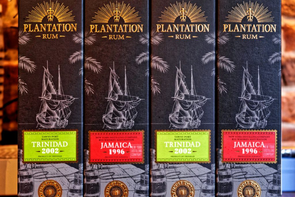 PLantation Trinidad 2002 & Jamaica 1996